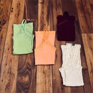 Hollister Tank and Camisole Bundle